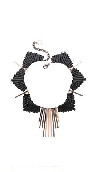 Gemma Redux Bib Drop Necklace