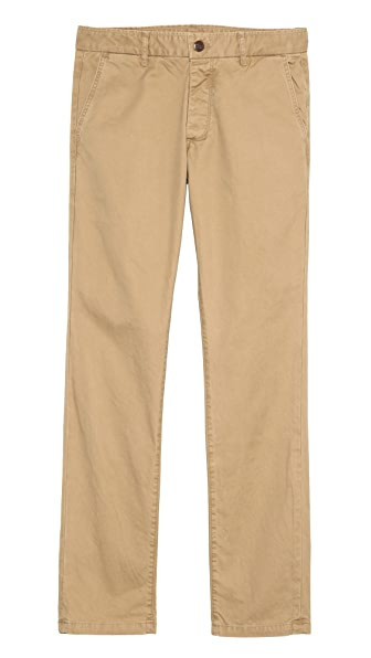 Grown & Sewn Slim Fit 3-Ply Chinos