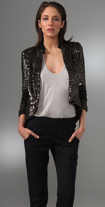 Gryphon Sequin Band Jacket