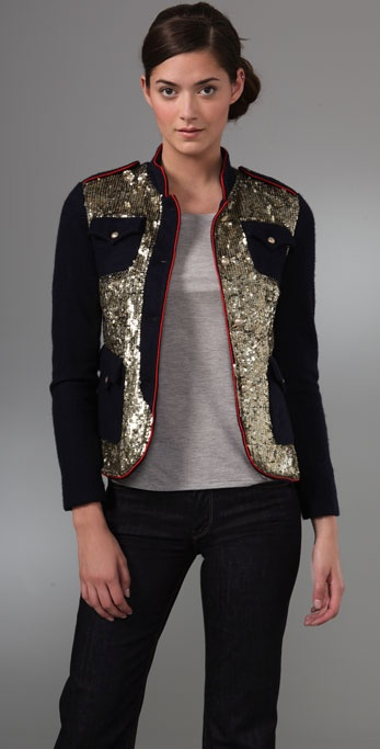 Gryphon Sequin Felt Jacket