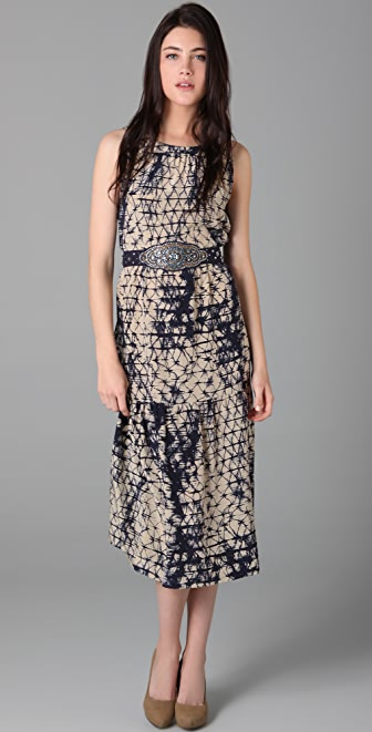 Gryphon Silk Chain Link Rep Dress
