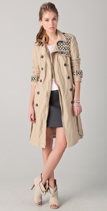 Gryphon New Timeless Trench Coat