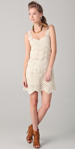 Gryphon Crochet Tank Dress