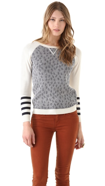 Gryphon Dots Crew Neck Top