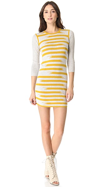 Gryphon Broken Stripe Dress