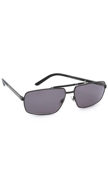 Gucci Metal Square Sunglasses - Black