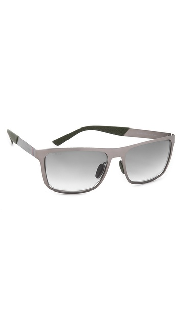 Gucci Sunglasses With Gradient Lenses - Matte Ruthenium