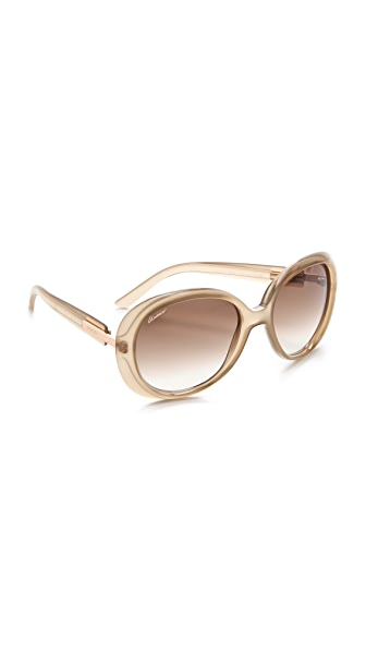 Gucci Oversized Oval Sunglasses