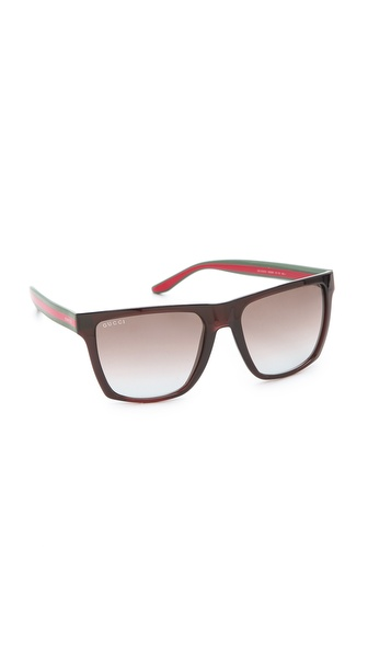 Gucci Oversized Squared Sunglasses
