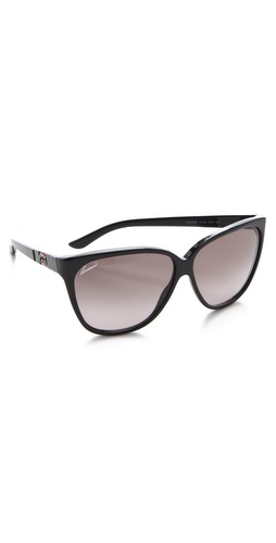 Gucci Youngster Oversized Cat Eye Sunglasses at Shopbop.com