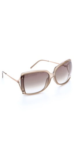 Gucci Oversized Butterfly Sunglasses at Shopbop.com