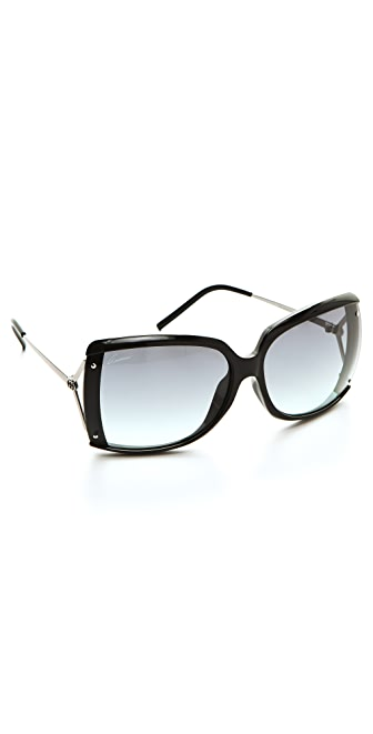 Gucci Oversized Butterfly Sunglasses