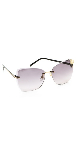 Gucci Butterfly Butterfly Sunglasses at Shopbop / East Dane