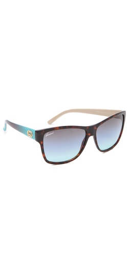 Gucci Colorful Sunglasses at Shopbop.com