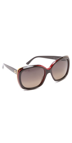 Shop Gucci Two Tone Glam Sunglasses and Gucci online - Accessories,Womens,Sunglasses,Other, online Store