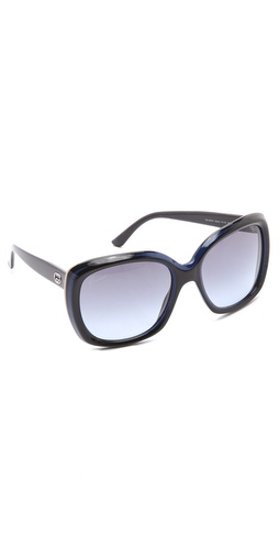 Gucci Two Tone Glam Sunglasses at Shopbop.com