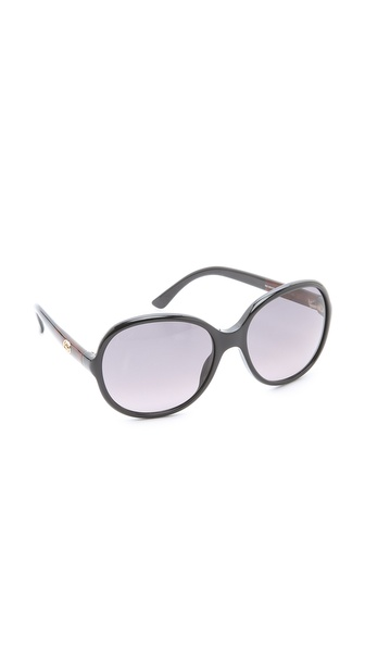 Gucci Oversized Round Sunglasses
