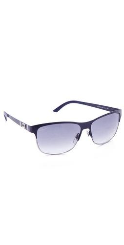 Gucci Metal Square Sunglasses