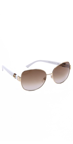 Gucci Oversized Glam Sunglasses at Shopbop / East Dane