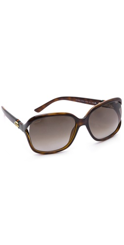 Gucci Open Side Sunglasses at Shopbop / East Dane