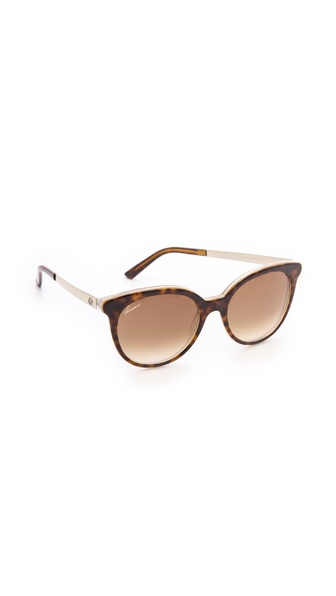 Gucci Embossed Sunglasses