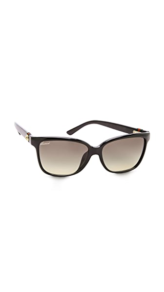 Gucci Special Fit Gradient Sunglasses