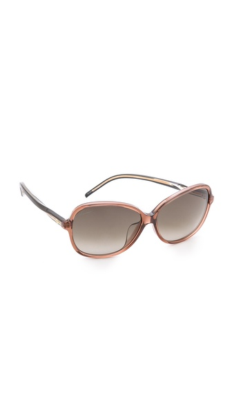 Gucci Special Fit Glam Sunglasses - Brown/Brown Gradient at Shopbop / East Dane