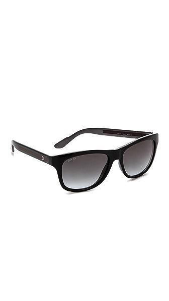 Gucci Gucci Classic Sunglasses (Transperant)