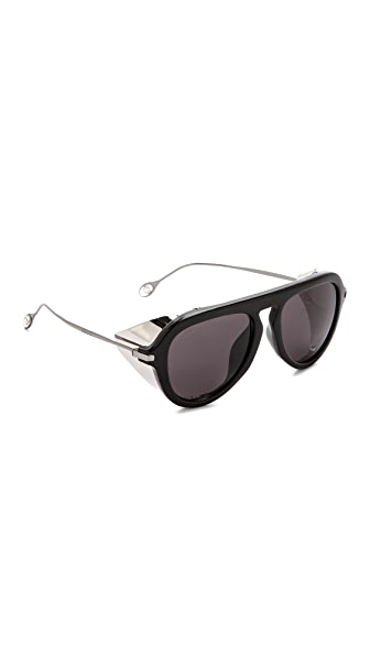 Gucci Gucci Sided Aviator Sunglasses (Black)