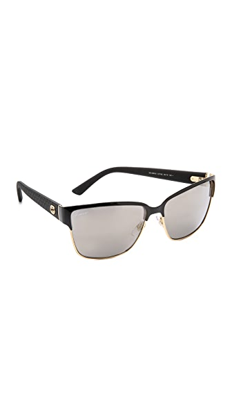 Gucci Gucci Thin Rim Sunglasses (Multicolor)