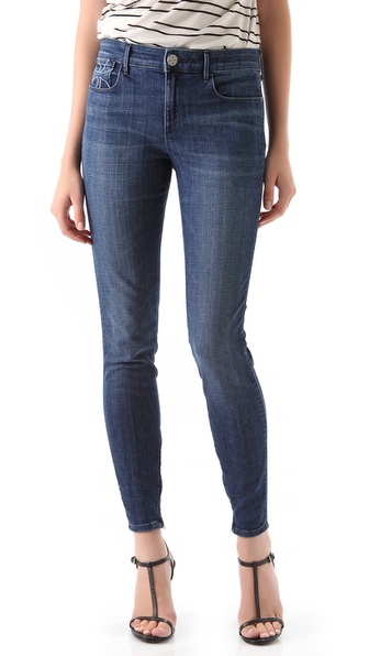 Habitual Almas Zip Legging Jeans