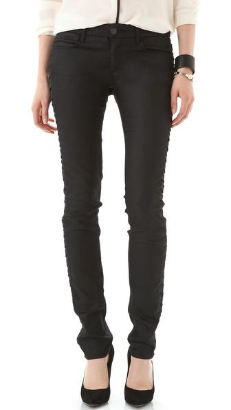 Habitual Acacia Skinny Herringbone Pants
