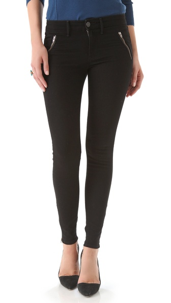 Habitual Amalia Zip Skinny Jeans
