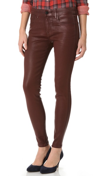 Habitual Almas Coated Skinny Jeans