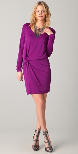 Halston Heritage Side Knot Dress