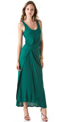 Halston Heritage Interlock Sleeveless Dress