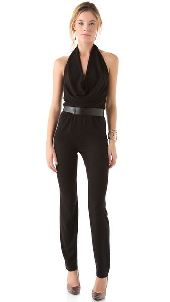 Halston Heritage Halter Jumpsuit