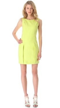 Halston Heritage Sleeveless Sheath Dress