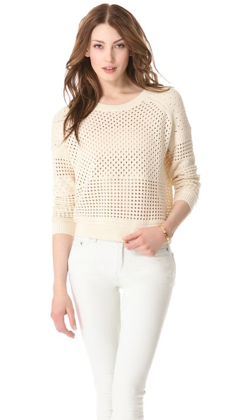 Halston Heritage Crew Neck Sweater