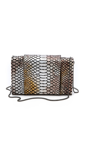 Halston Heritage Snake Convertible Purse