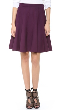 Halston Heritage Circle Skirt