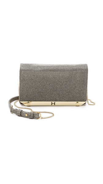 Halston Heritage Metal Frame Mini Clutch