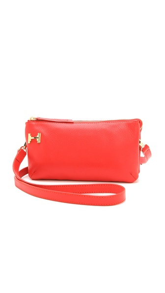Halston Heritage Double Gusset Mini Bag
