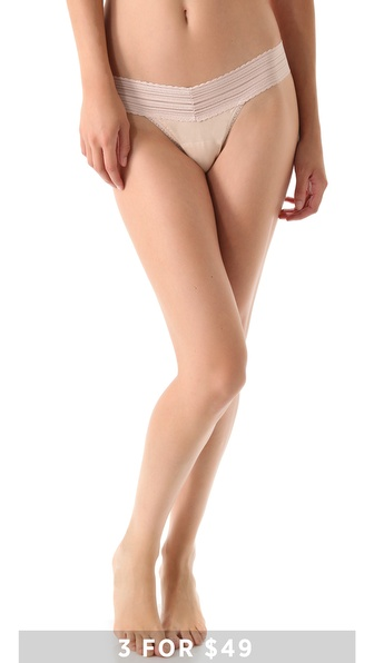 Hanky Panky T Shirt Low Rise Thong