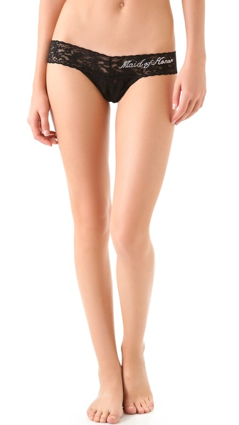 Hanky Panky Maid of Honor Low Rise Thong