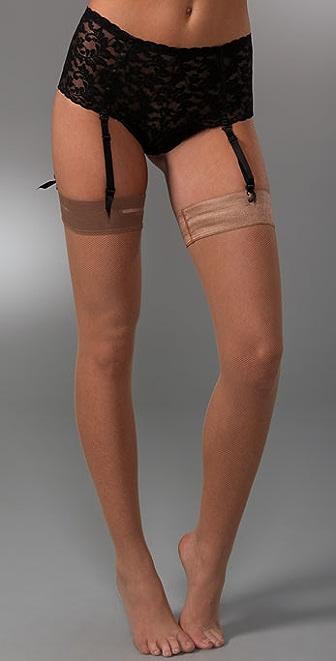 Hanky Panky Signature Lace Retro Garter Thong