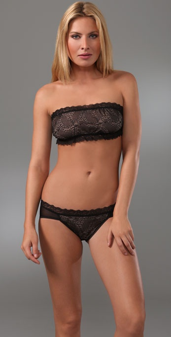 Hanky Panky Feather Lace Bandeau