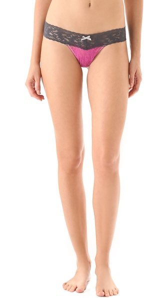 Hanky Panky Tonal Colorplay Low Rise Thong