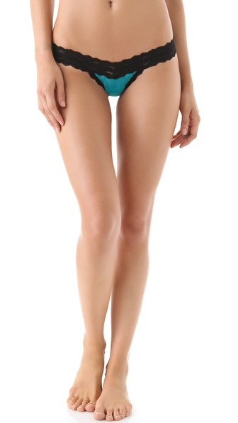 Hanky Panky Sheer Enchantment Low Rise Thong
