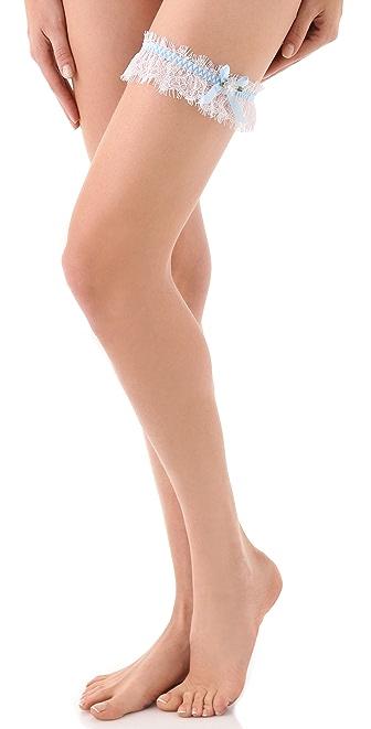 Hanky Panky Signature Lace Keepsake Garter & Tossing Garter Set